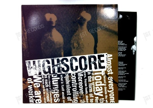 Highscore - New Fuel GER LP 2000 + Insert (NM/NM)