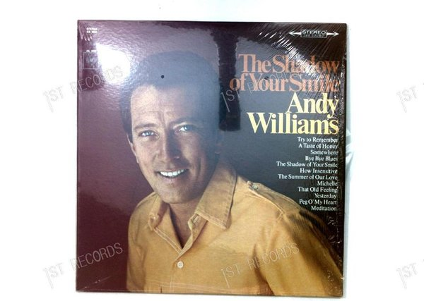 Andy Williams - The Shadow Of Your Smile US LP 1966 (VG+/NM)