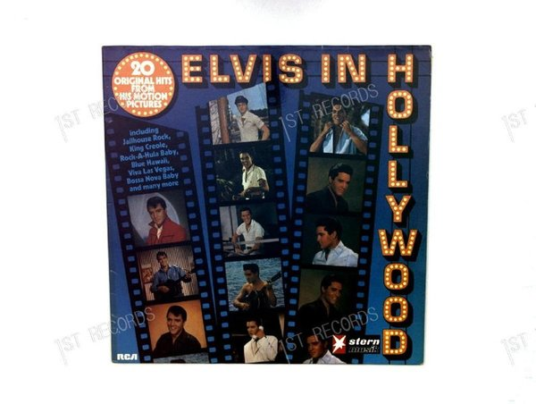 Elvis Presley - Elvis In Hollywood GER LP 1976 (VG+/VG+)