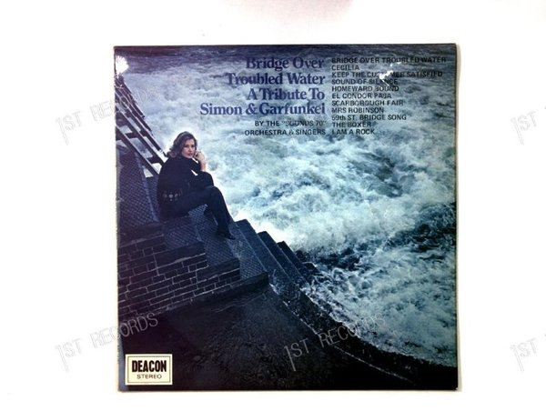 Bridge Over Troubled Water A Tribute To Simon & Garfunkel UK LP 1971 (VG/VG)