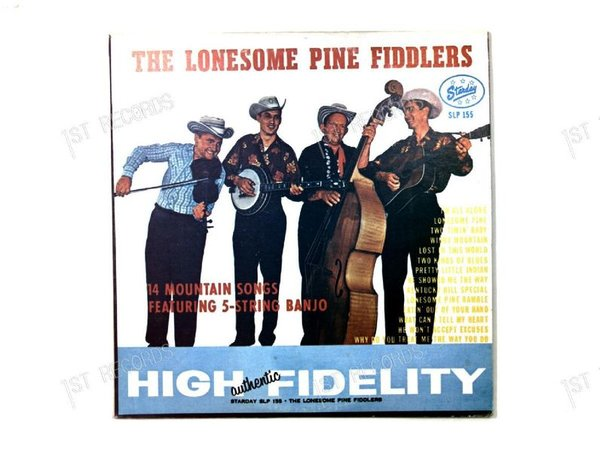 The Lonesome Pine Fiddlers-14 Mountain Songs feat 5-String Banjo US LP 1976 (VG+/VG)