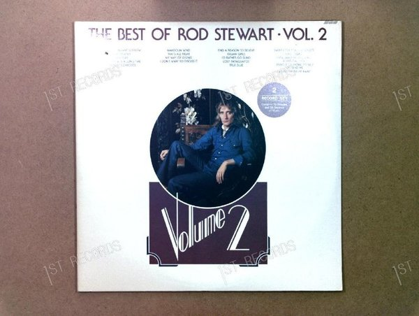 Rod Stewart - The Best Of Rod Stewart Vol. 2 CAN 2LP 1976 (VG+/VG)