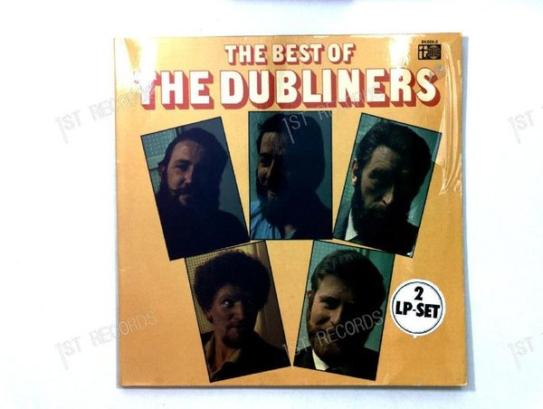 The Dubliners- The Best Of The Dubliners GER 2LP 1972 FOC (VG+/VG+)