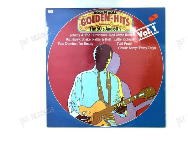 Various - Golden Rock 'N' Roll Hits In The 50ies And 60ies Vol. 1 NL LP (VG+/VG+)