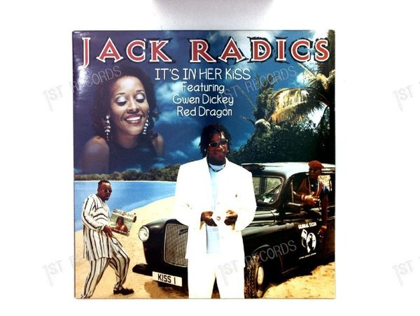 Jack Radics Feat Gwen Dickey & Red Dragon - It's In Her Kiss FRA Maxi 1996 (VG+/VG+)