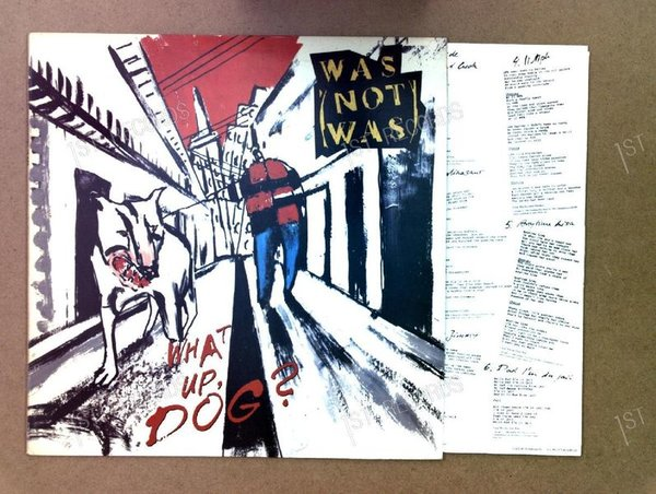 Was (Not Was) - What Up, Dog? US LP 1988 + Innerbag (VG+/VG+)