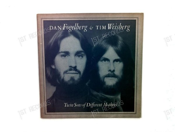 Dan Fogelberg & Tim Weisberg - Twin Sons Of Different Mothers Europe LP1978 (VG/VG)