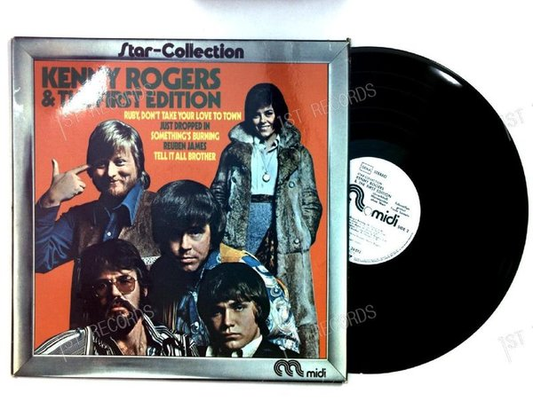 Kenny Rogers & The First Edition - Star-Collection GER LP 1973 (VG+/VG+)