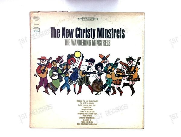 The New Christy Minstrels - The Wandering Minstrels US LP 1965 (VG/VG)