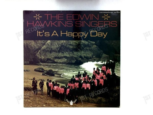 Edwin Hawkins Singers - Oh Happy Day LP 1969 (VG+/VG+)