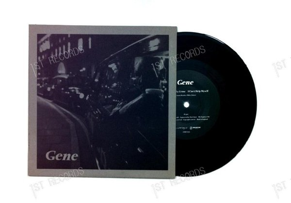 Gene - Be My Light, Be My Guide UK 7in 1994 (VG+/VG+)