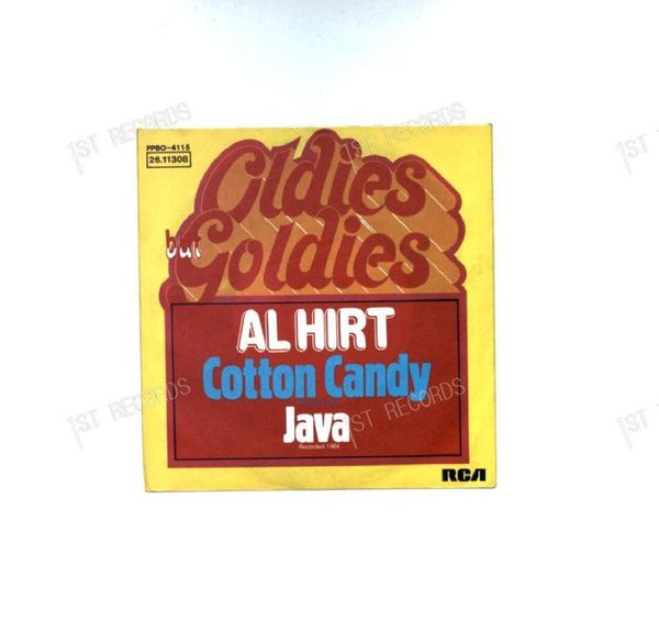 Al Hirt - Cotton Candy / Java GER 7in (VG+/VG+)
