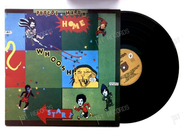 Procol Harum - Home BEL LP (VG+/VG+)