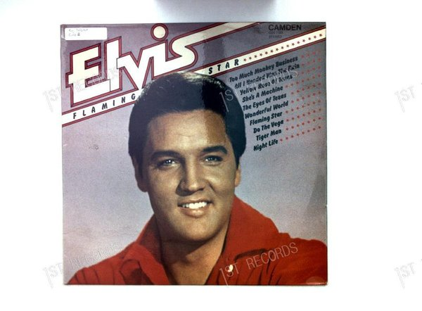 Elvis - Flaming Star UK LP 1980 (VG+/VG+)