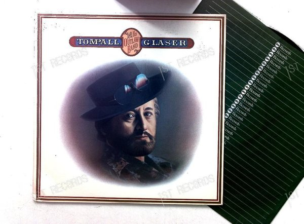 Tompall Glaser - Tompall And His Outlaw Band US LP 1977 (VG+/VG)