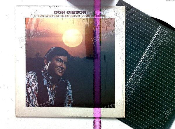 Don Gibson - If You Ever Get To Houston (Look Me Down) LP US 1977 (VG+/VG+)