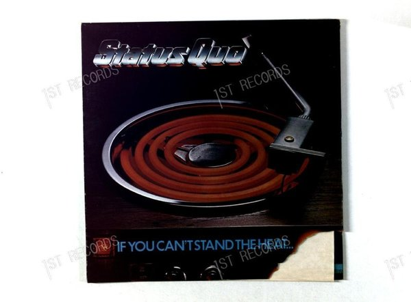 Status Quo - If You Can't Stand The Heat GER LP 1978 (VG+/VG)