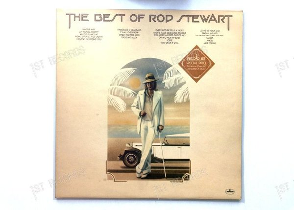 Rod Stewart - The Best Of Rod Stewart NL 2LP FOC (VG+/VG+)