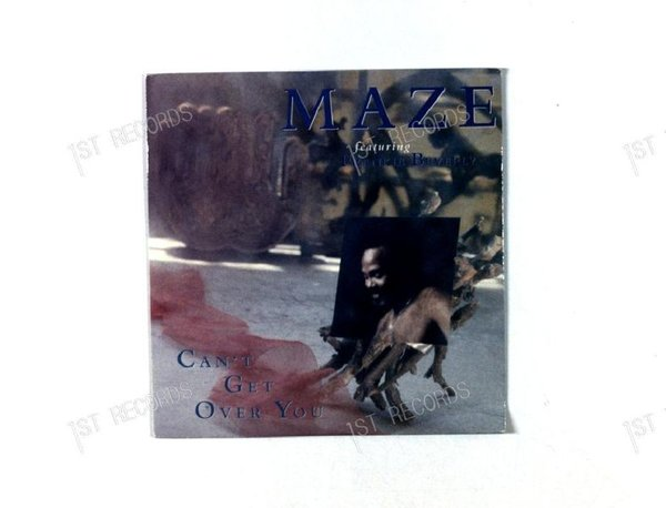 Maze Featuring Frankie Beverly - Can't Get Over You UK 7in 1989 (VG+/VG+)