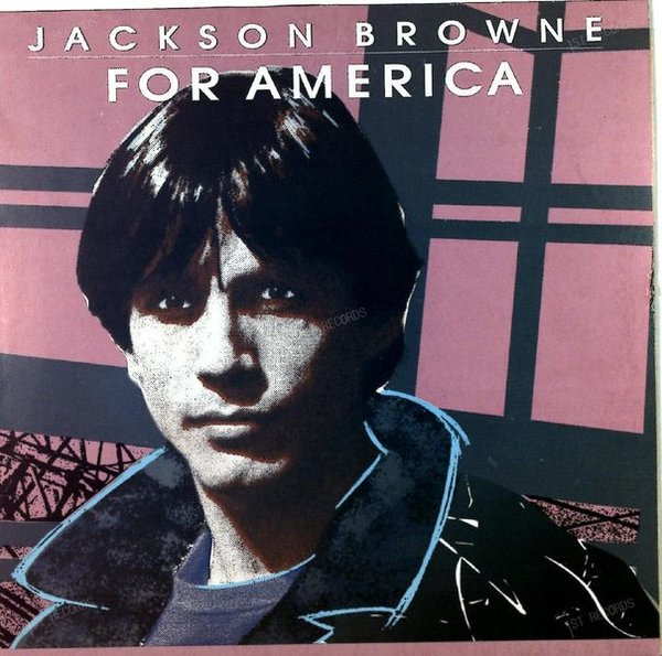 Jackson Browne - For America Europe Maxi 1986 (VG/VG+)