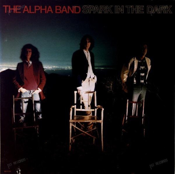 The Alpha Band - Spark In The Dark US LP 1977 (VG/VG)