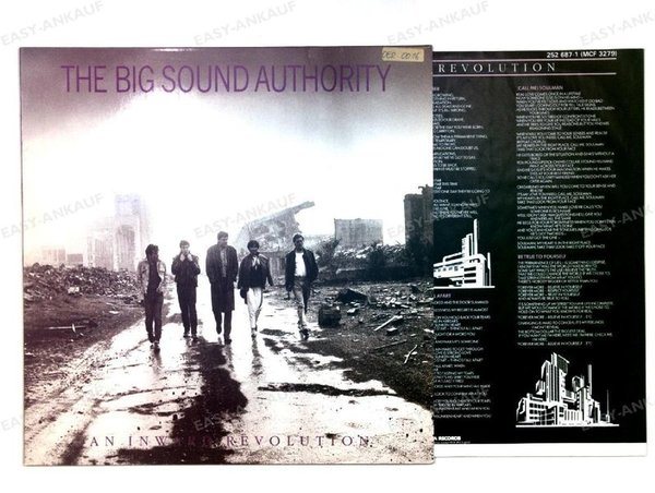 The Big Sound Authority - An Inward Revolution Europe LP 1985 + Innerbag (VG+/VG+)