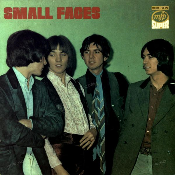 Small Faces - Small Faces GER LP (VG+/VG) (VG+/VG)