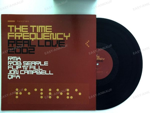 The Time Frequency - Real Love 2002 Maxi 2002 (NM/VG+)