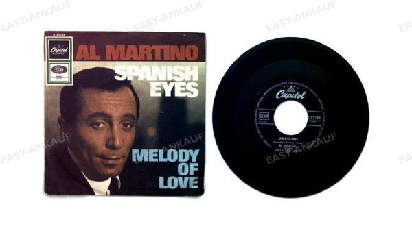Al Martino - Spanish Eyes / Melody Of Love GER 7in 1968 (VG+/VG+)