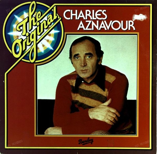 Charles Aznavour - The Original LP (VG/VG-) (VG/VG-)