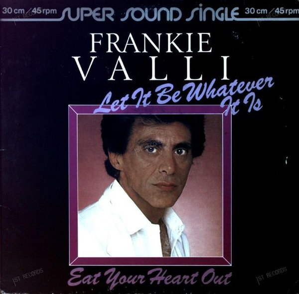 Frankie Valli - Let It Be Whatever It Is Maxi 1980 (VG+/VG) (VG+/VG)