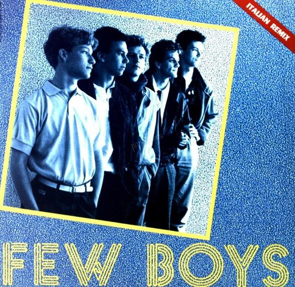 Few Boys - Secret Times Maxi 1985 (VG/VG) (VG/VG)