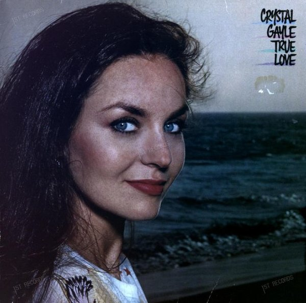 Crystal Gayle - True Love LP 1982 + Innerbag (VG+/VG) (VG+/VG)