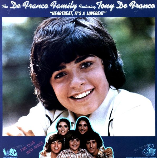 The DeFranco Family Featuring Tony DeFranco - Heartbeat, It's A LP 1973 (VG+/VG)