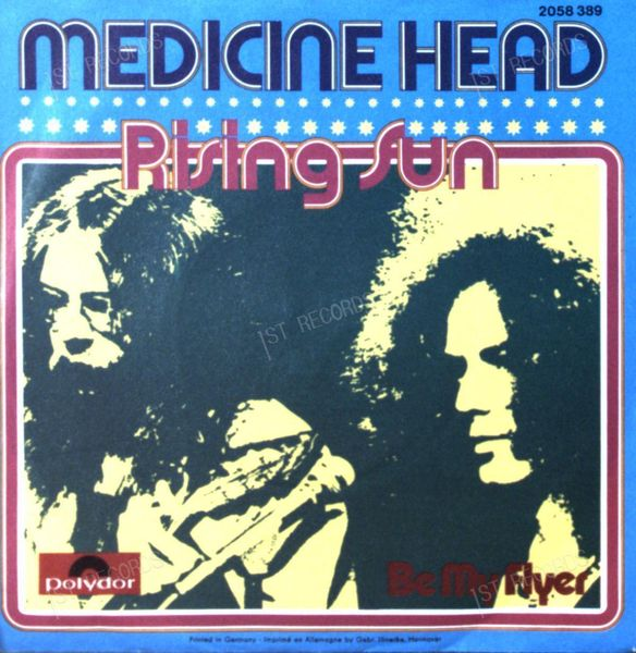 Medicine Head - Rising Sun 7in 1973 (VG+/VG+) (VG+/VG+)