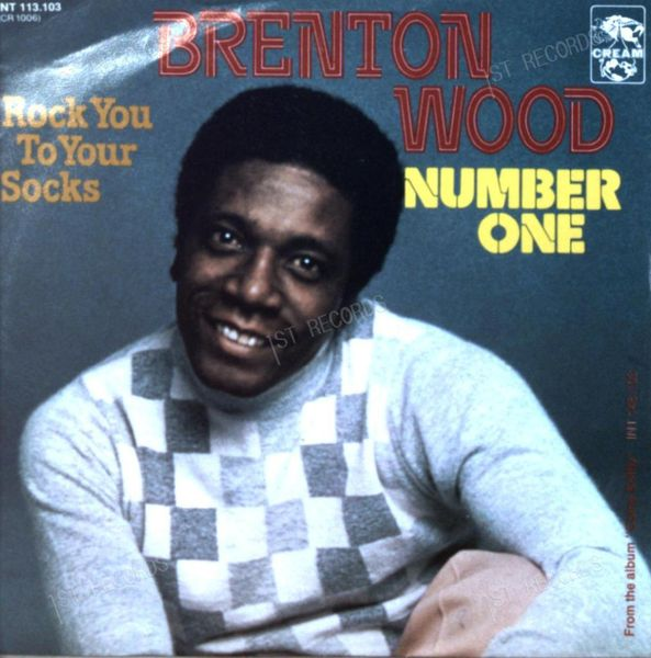 Brenton Wood - Number One / Rock You To Your Socks 7in 1977 (VG+/VG+)