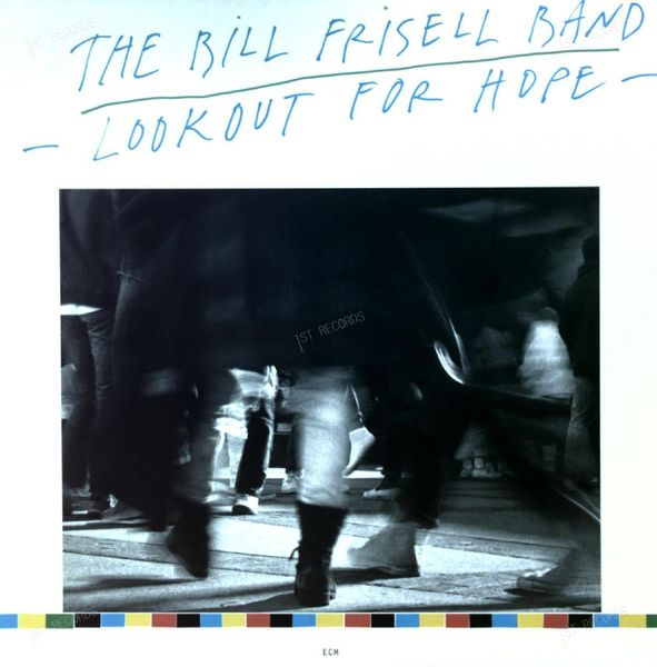 The Bill Frisell Band - Lookout For Hope LP 1988 + Insert (NM/VG+) (NM/VG+)