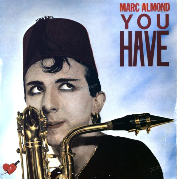 Marc Almond - You Have Maxi 1984 (VG+/VG+) (VG+/VG+)