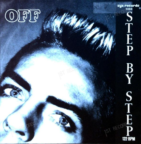 Off - Step By Step 7in 1987 (VG+/VG+) (VG+/VG+)