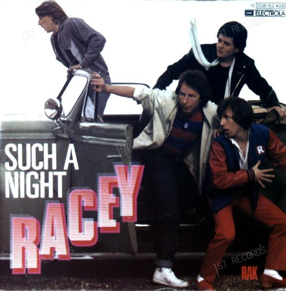 Racey - Such A Night 7in 1979 (VG/VG) (VG/VG)