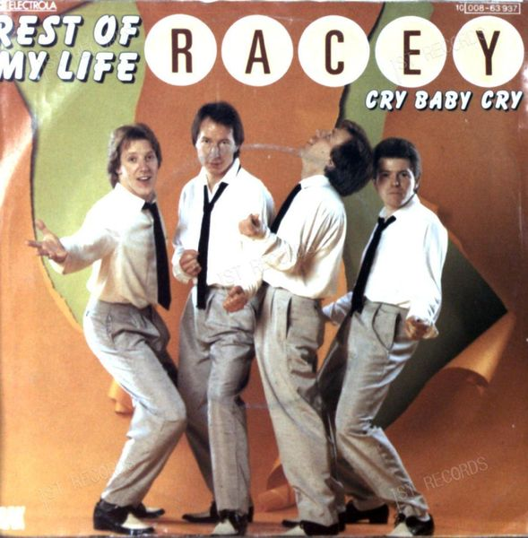 Racey - Rest Of My Life 7in 1980 (VG/VG) (VG/VG)