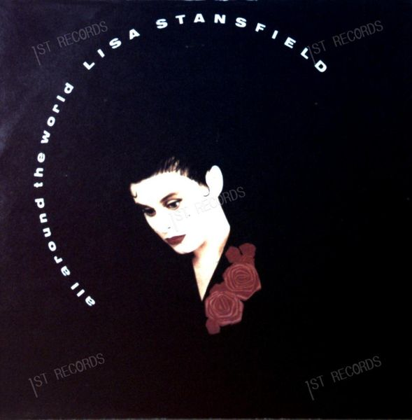 Lisa Stansfield - All Around The World 7in 1989 (VG+/VG+) (VG+/VG+)