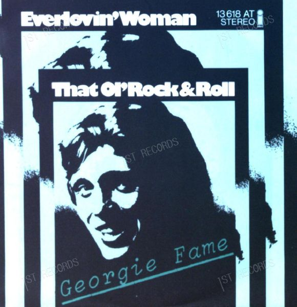Georgie Fame - Everlovin' Woman 7in 1974 (VG+/VG+) (VG+/VG+)