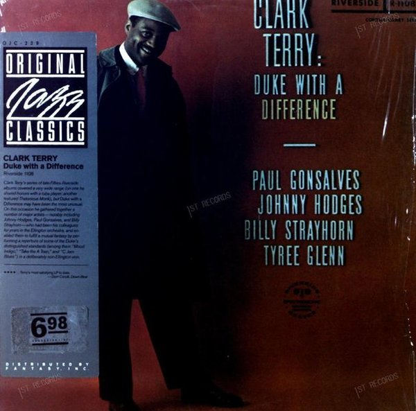 Clark Terry - Duke With A Difference LP 1957 (VG+/VG+) (VG+/VG+)