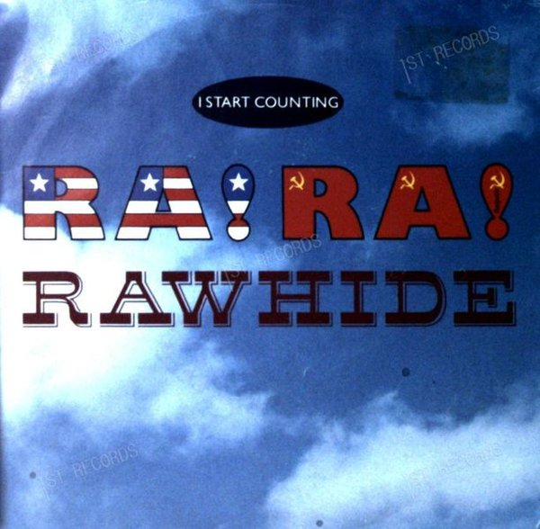 I Start Counting - Ra! Ra! Rawhide 7in 1988 (VG/VG) (VG/VG)