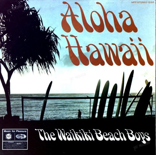 Waikiki Beach Boys - Aloha Hawaii LP 1969 (VG/VG) (VG/VG)
