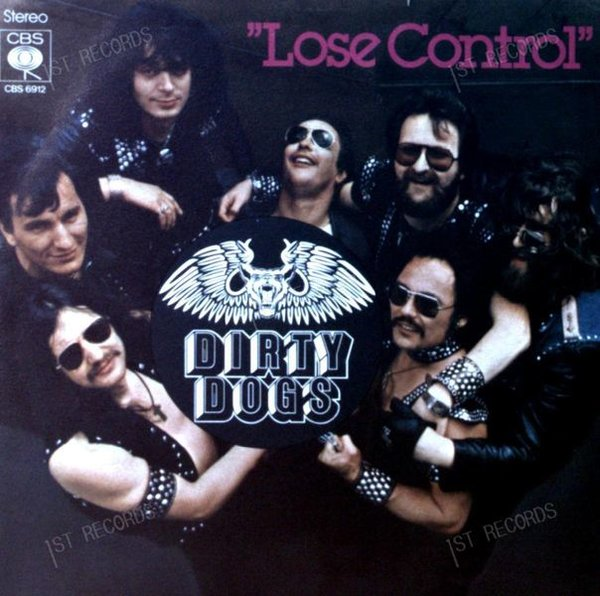 Dirty Dogs - Lose Control 7in 1978 (VG/VG) (VG/VG)