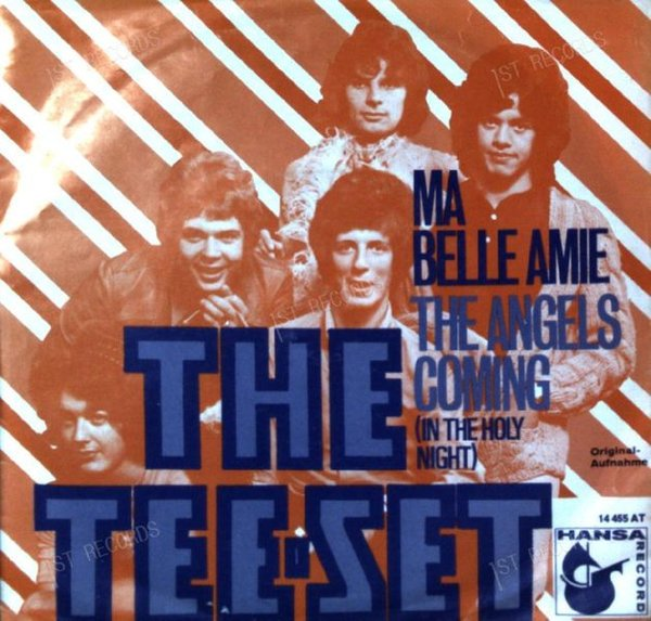 The Tee-Set - Ma Belle Amie /The Angels Coming (In The Holy Night) 7in 1970 (VG/VG)