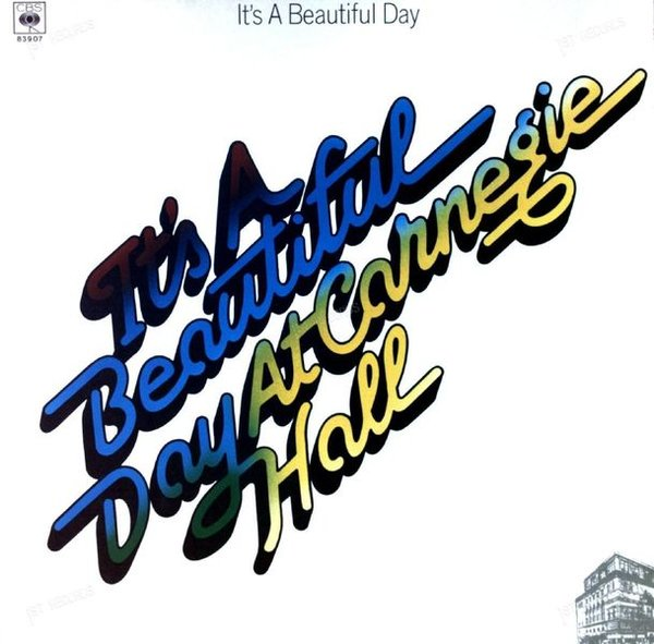 It's A Beautiful Day - At Carnegie Hall Europe LP 1979 FOC (VG+/VG+) (VG+/VG+)