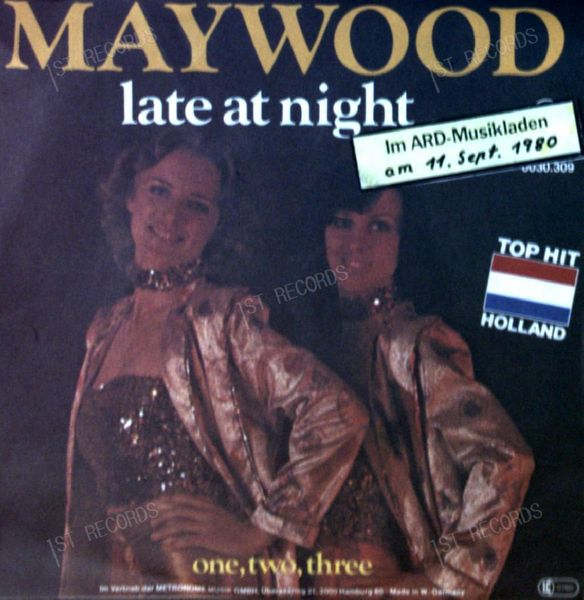 Maywood - Late At Night / One Two Three 7in 1980 (VG/VG) (VG/VG)